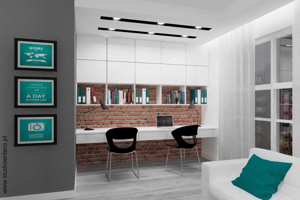 Salon loft nowa papiernia studio architektoniczne entero for Salon loft metz